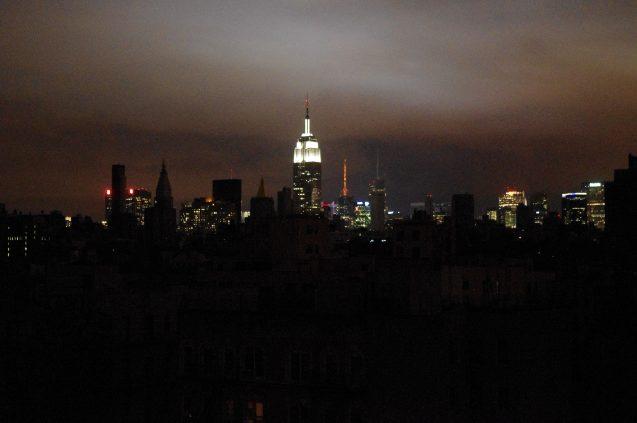 Blackout in NYC after Hurricane Sandy (Photo: David Shankbone)