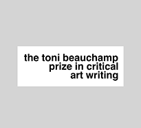 The Toni Beauchamp Prize in Critical Art Writing