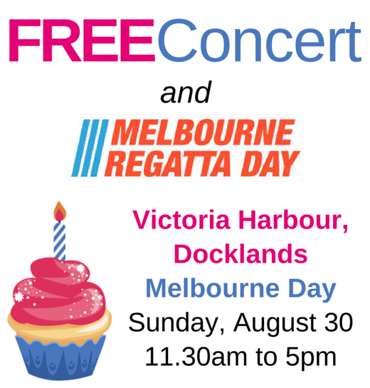 Free Melbourne Day concert