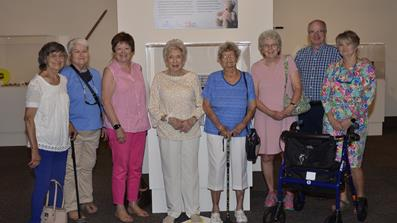 Group photo of members and volunteers at McKissick Museum