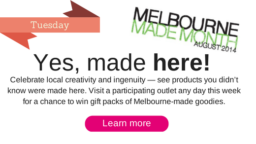 Goodies you didn't know that were Melbourne-made are on show. Click for more.