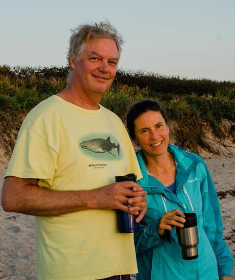 Bob & Cindy Sluka on Cape Canaveral | Paul Simonin