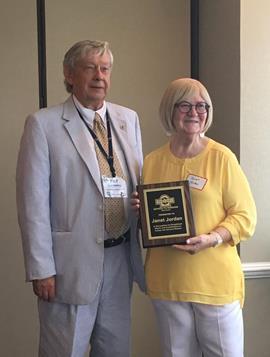 Photo of Janet Jordan and Pat Blackwell