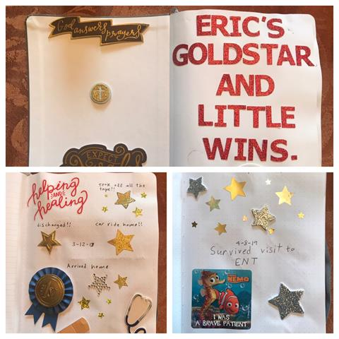 Eric's Sticker Book