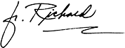 Fr. Richard Rohr signature