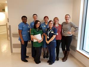 Oncology clinical research team