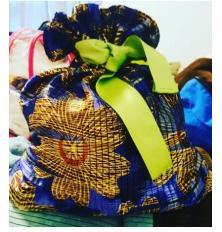 Drawstring Bags with Renisha