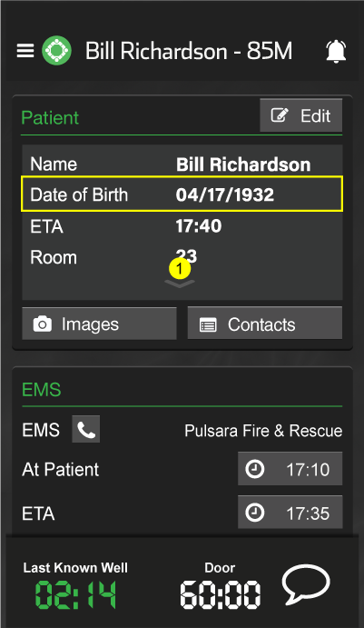 Expand Patient Card Screenshot
