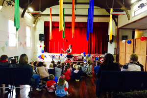 Big Tops & Tiny Tots Circus Show by Solid State Circus at Balmoral, image by Chameleon Arts Collective.