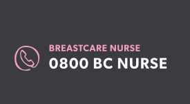 Our breast care nurses are just a phone call or an email away