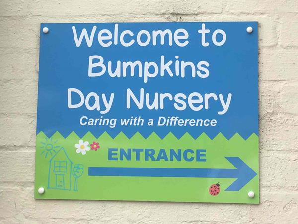 Bumpkins Signage