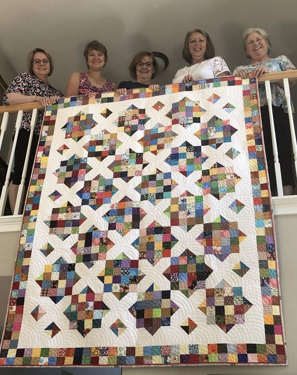 Show and Tell on Facebook with Cary Quilting Company