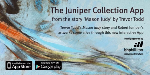 Front cover image of Award winning Juniper Collection app