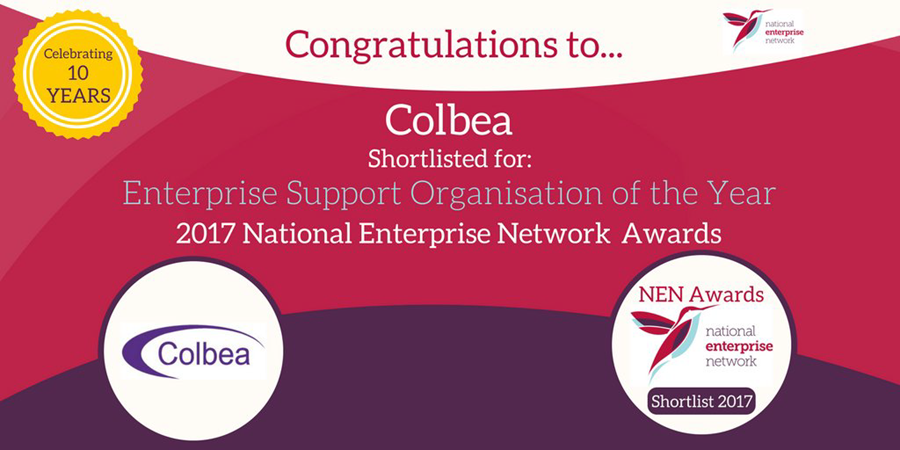 Colchester Business Enterprise Agency Shortlisted for Enterprise Organisation of the Year