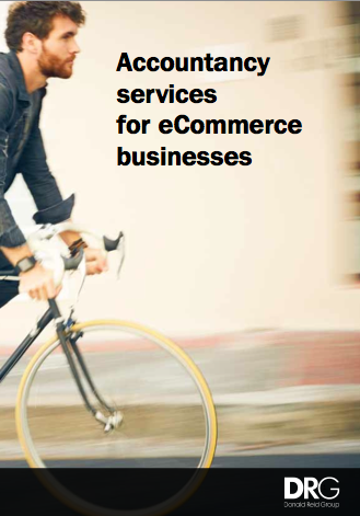 DRG brochure Accountancy Services for eCommerce businesses