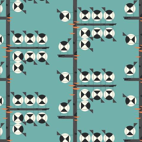 Charley Harper Fabric