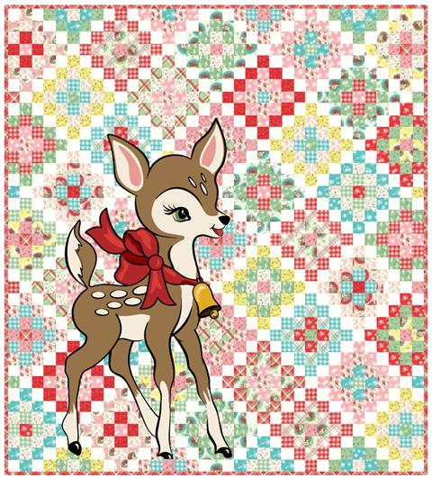 Deer Christmas by Moda