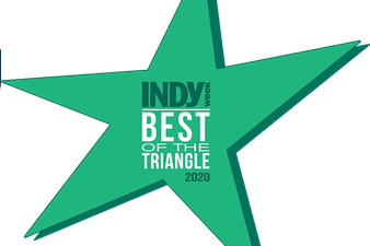 Best of the Triangle, 3 years in a row!