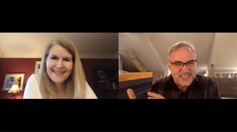 Eric Elder Interviews Mary Felkins on a new podcast.