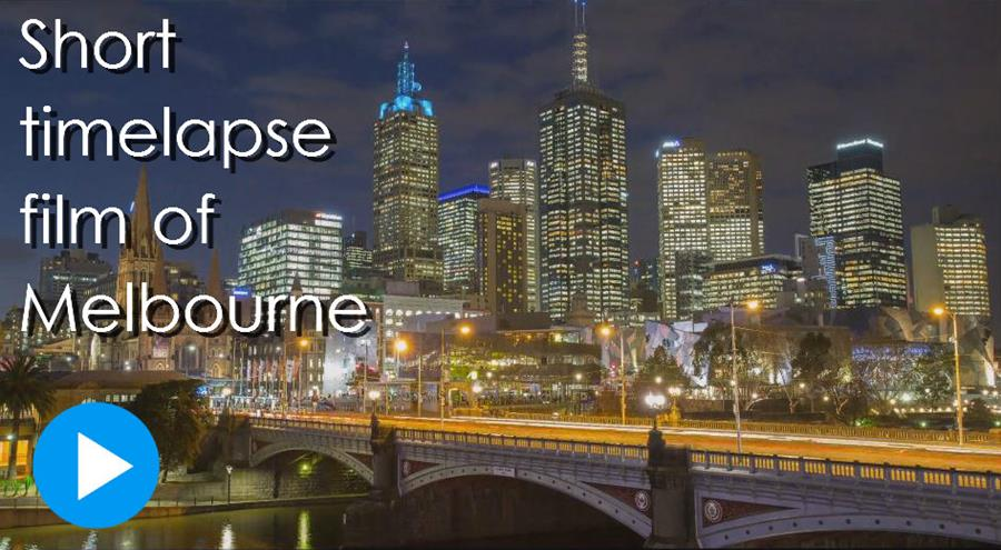Must see timelapse film of Melbourne.