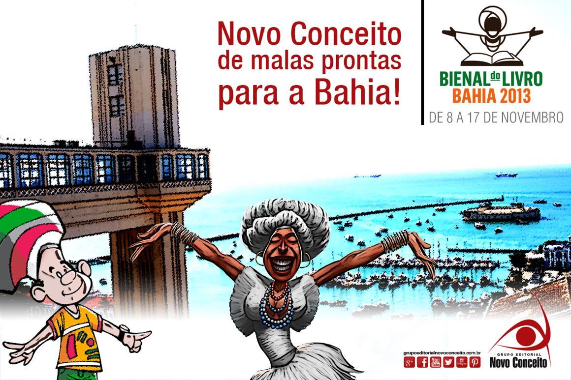 Novo COnceito de Malas Prontas para a Bahia
