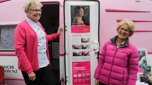 The Pink Caravan heads south
