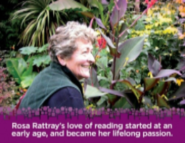 Please support the Rosa Rattray Early Literacy fund. Rosa's love of reading started at an early age and quickly become her lifelong passion.