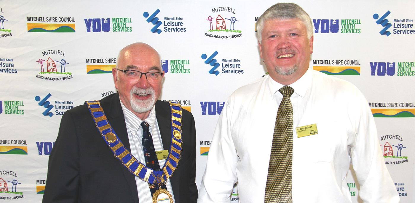 Councillors David Lowe and David Atkinson