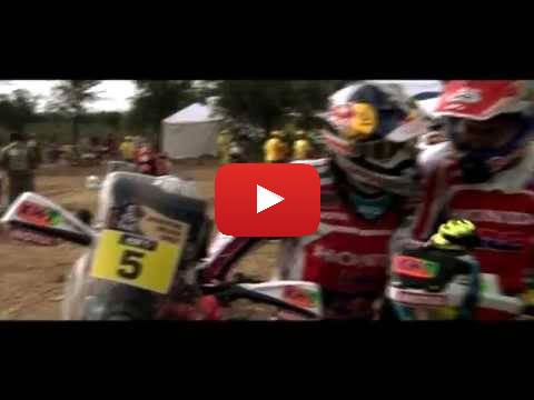 Team HRC Dakar Rally 2015 - Stage 12