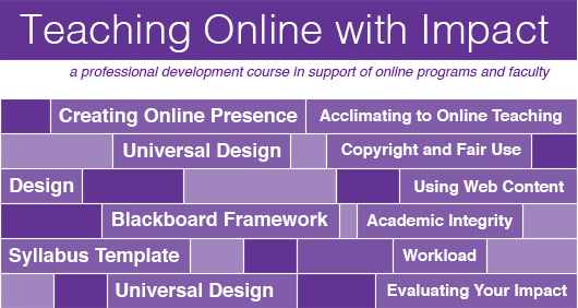 Teaching Online with Impact Course
