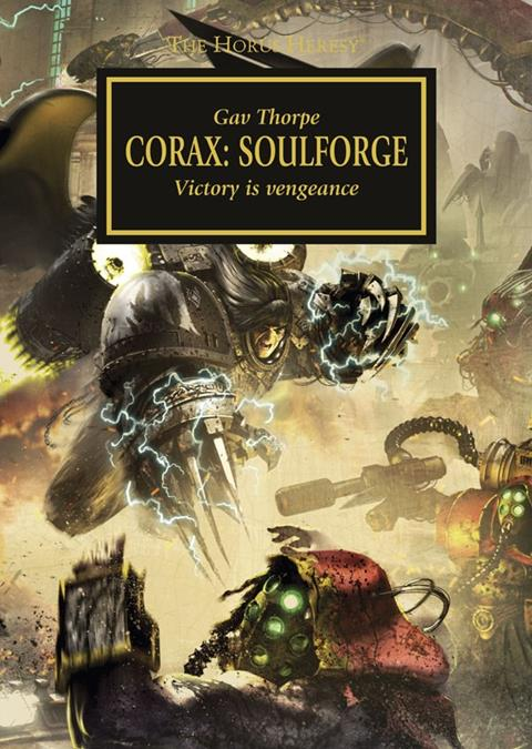 Cover of Corax: Soulforge by Gav Thorpe