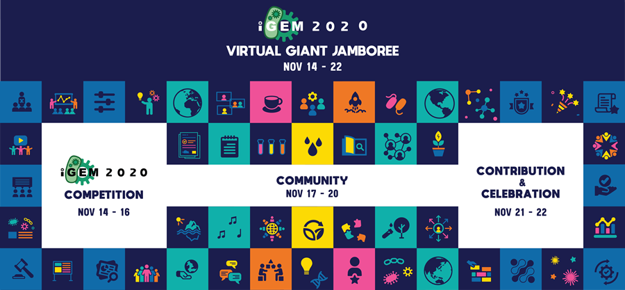 img: iGEM 2020 Virtual Giant Jamboree banner