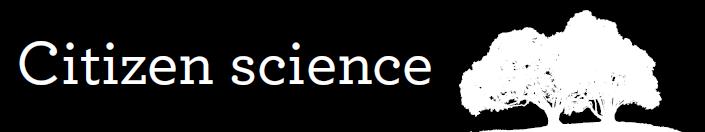Citizen Science banner