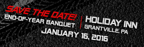 Save the Date — End-of-year Banquet — January 16, 2016