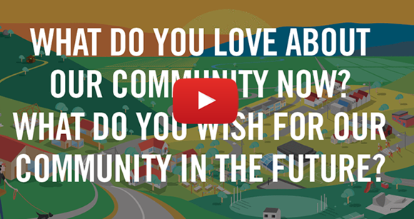 What do you love about our community now? What do you wish for our community in the future?