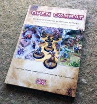 Hardback Book of Open Combat from Second Thunder