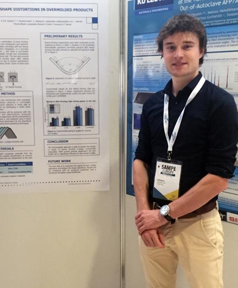 TPRC student wins the SAMPE Europe student competition