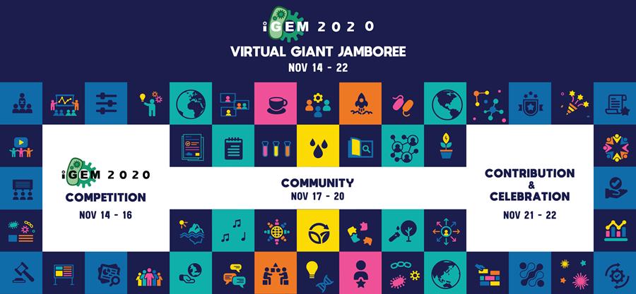 img: iGEM 2020 Virtual Giant Jamboree banner