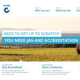 Image of JAS-ANZ New Website