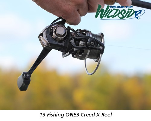 13 Fishing One3 Creed X Reel