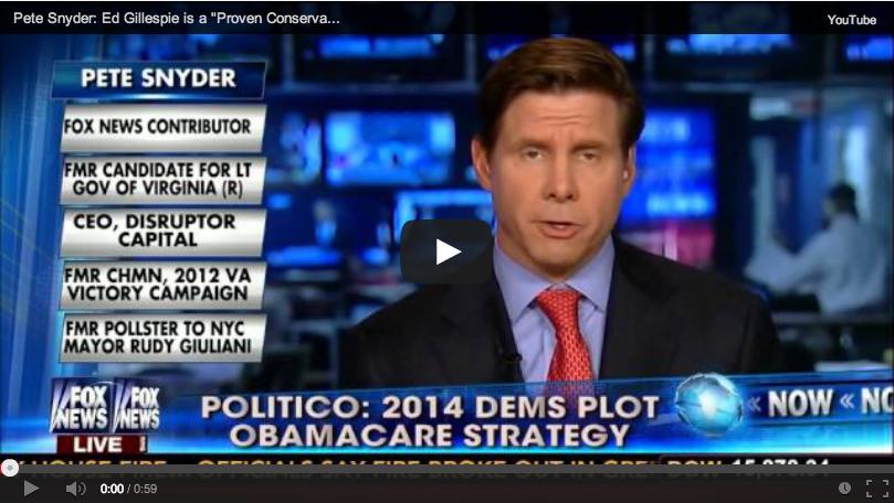 Pete Snyder Fox News