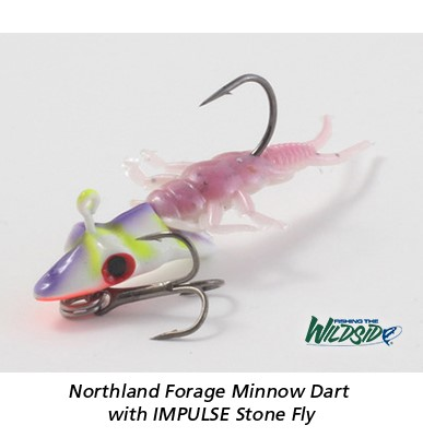 Northland Forage Minnow Dar with IMPULSE Stone Fly