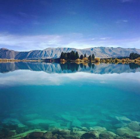 Lake Ruataniwha in Twizel | Image: Claire McKibbin