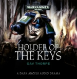 Cover for Holder of the Keys by Gav Thorpe, published by Black Library