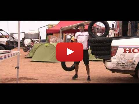 Team HRC Dakar Rally Rest Day