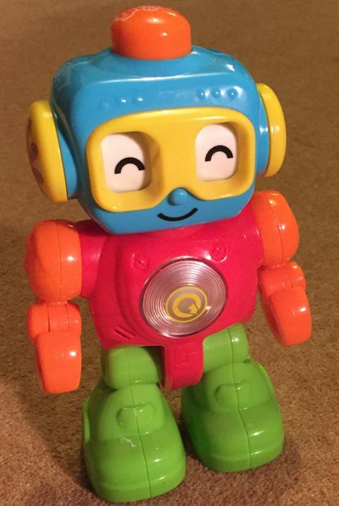 One of Sammy's Robot Toys