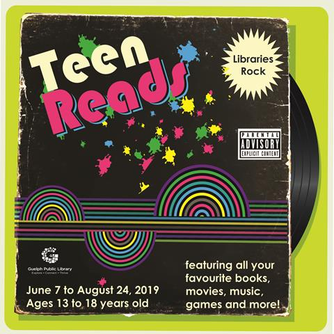 Our Teen Reads Summer Challenge begins on Friday June 7