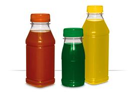 PET Saftflaschen