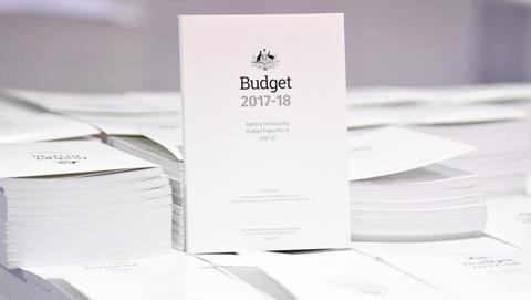 Federal Budget Document