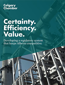 Developing a regulatory system that keeps Alberta competitive